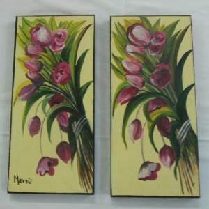 diptychs tulips